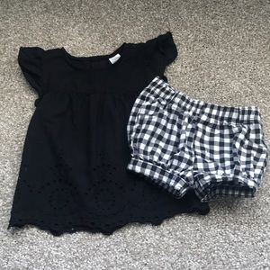 Carter's Gingham Outfit